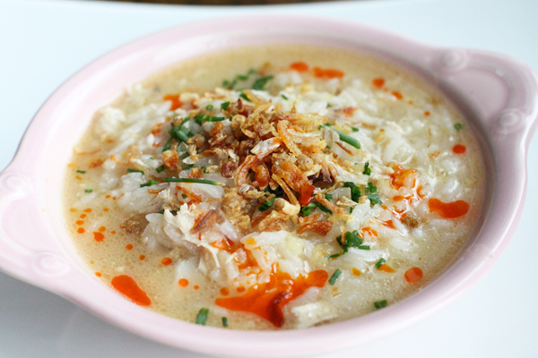 How to Make Arroz Caldo
