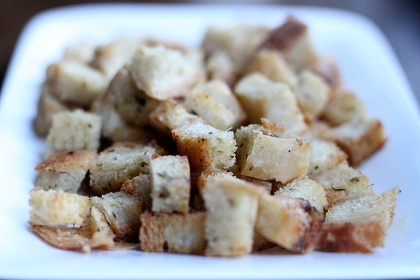 How to make Homemade Croutons Recipe