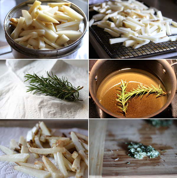 How to make hand cut french fries