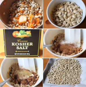 How to make roasted pumpkin seeds