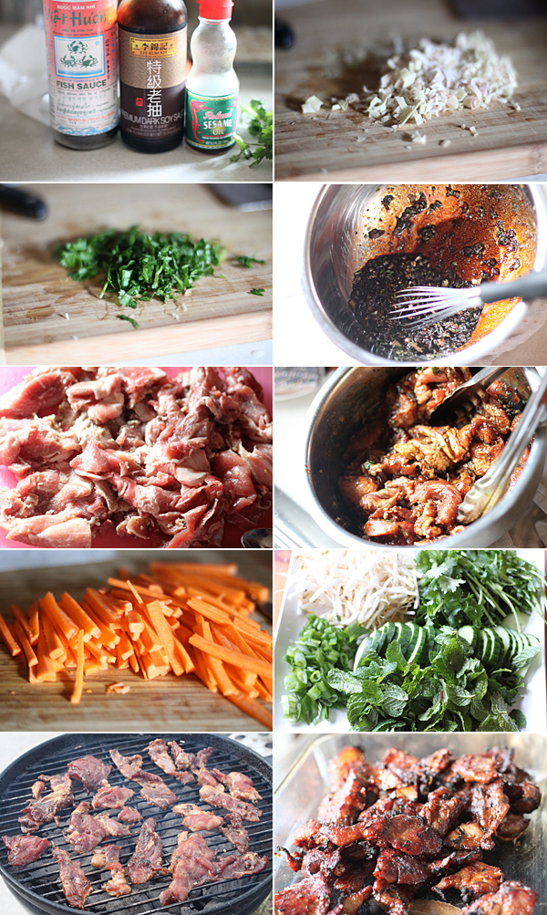 Vietnamese pork noodle recipe