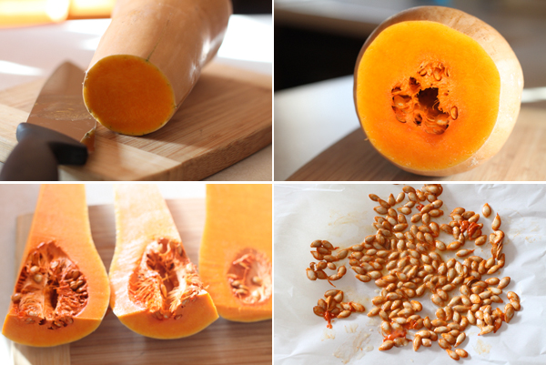 How to make roasted squash seeds