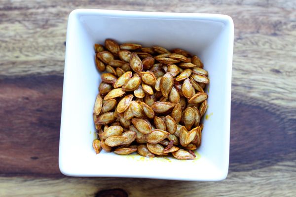 Roasted Squash Seeds Recipe