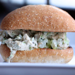 Peruvian Chicken Salad Sandwich