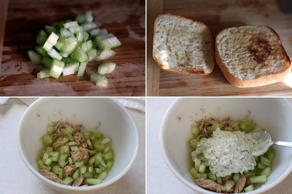 How to make a Peruvian Chicken Salad Sandwich