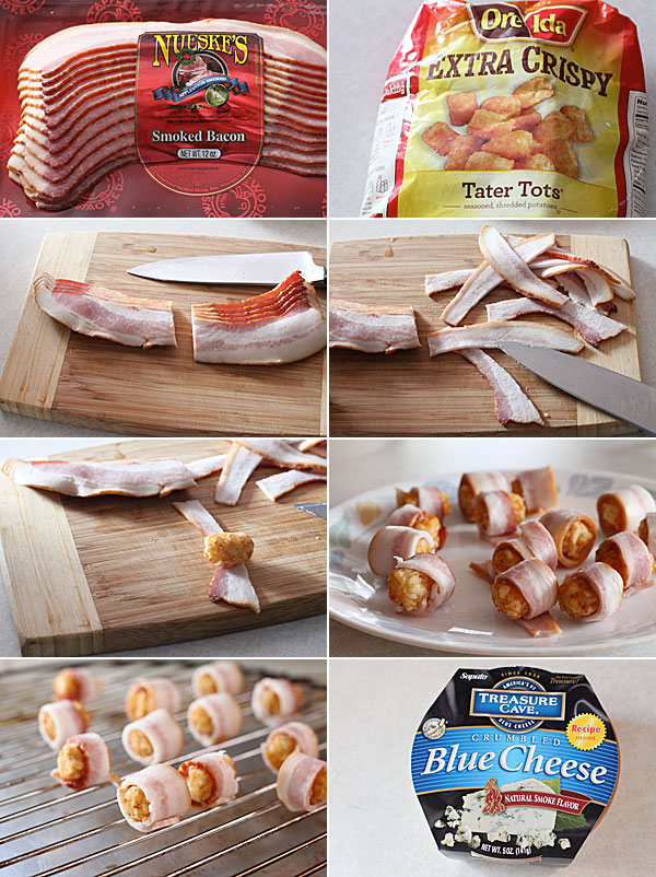 Bacon Wrapped Tater Tots Recipe