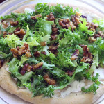 Escarole and Goat Cheese Pizza Recipe