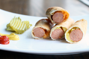 Hot Dog Egg Rolls Recipe Super Bowl