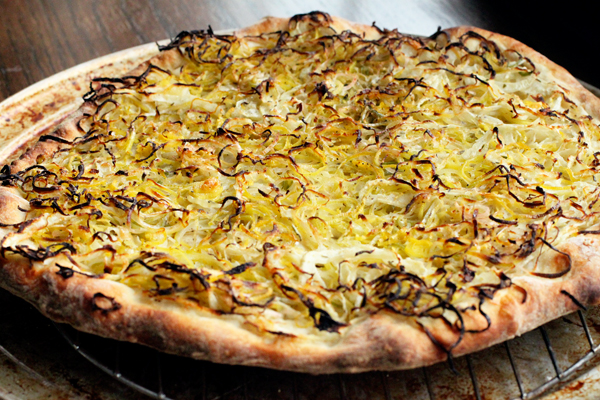 Leek and Fennel Pizza Recipe