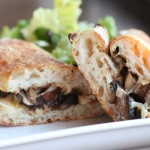 Caramelized Mushroom and Onion Melt Sandwich Recipe