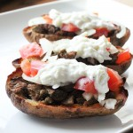Gyro Potato Skins