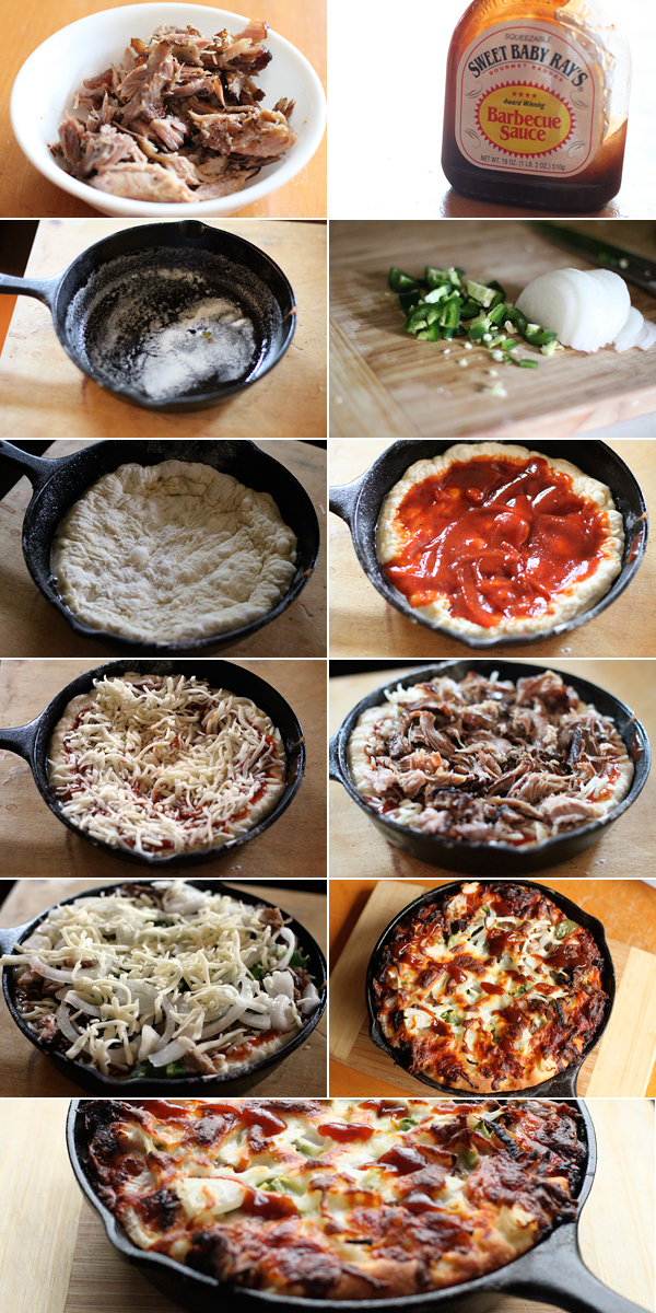 BBQ Pizza Ingredients