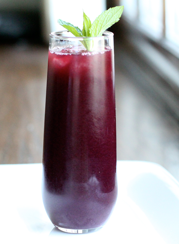 how to make blueberry juice
