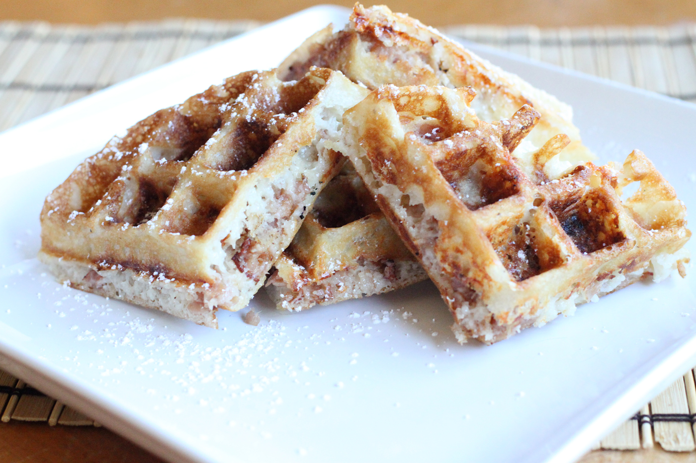 Ham and Cheese Waffles – Simple Comfort Food – Recipes that are ...