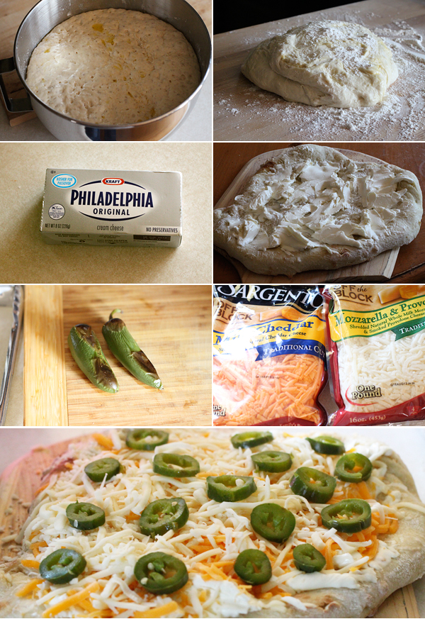 How to make a Jalapeño Popper Pizza