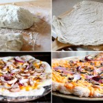 Mushroom, Onion, and Rosemary Pizza Recipe