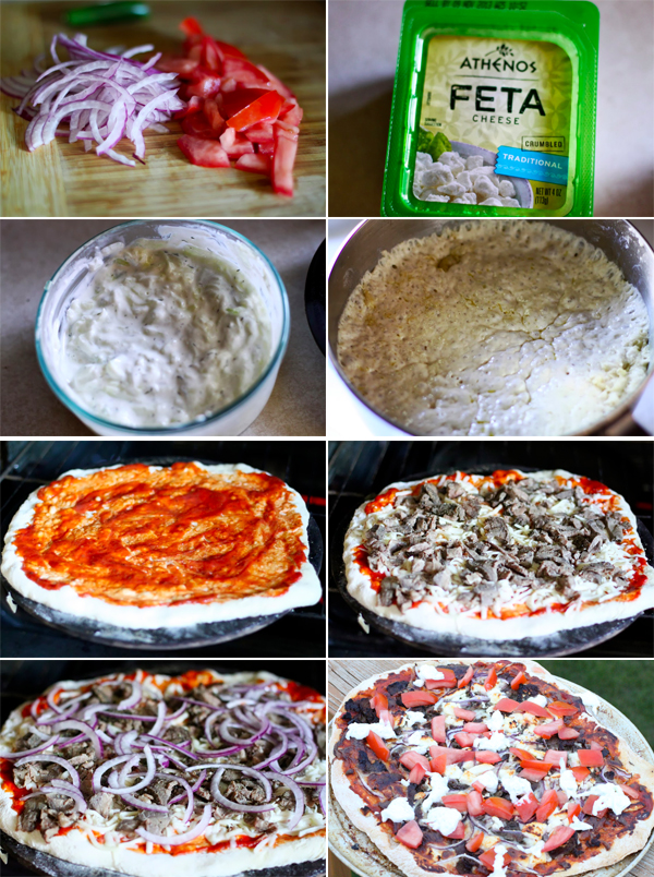How to make a gyro pizza