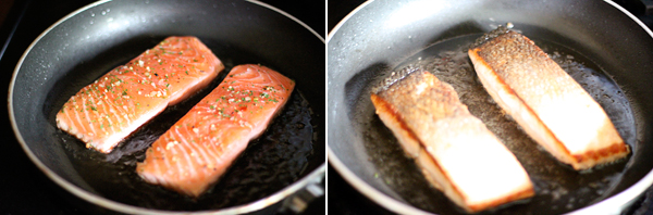 How to make pan seared salmon filets