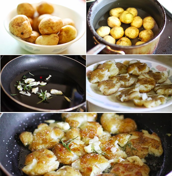 How to make smashed potatoes