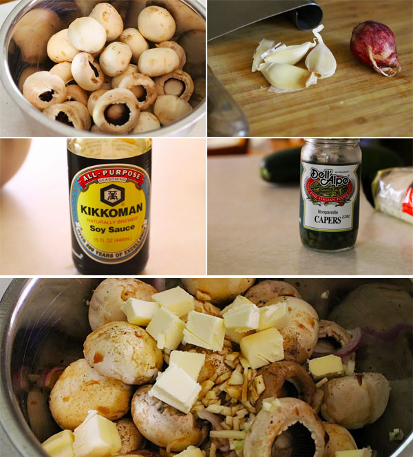 How to make steakhouse style mushrooms