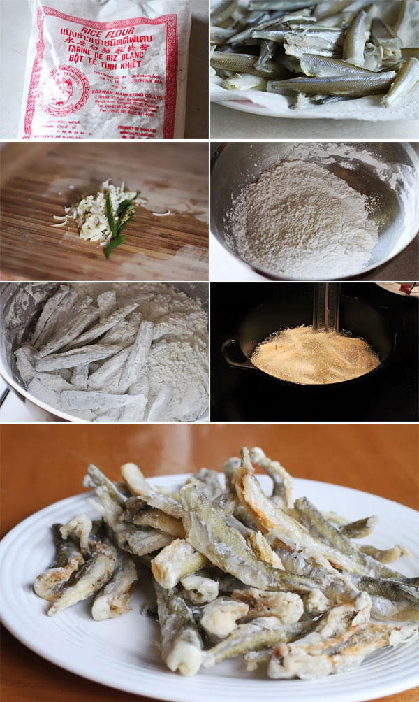 How to make fried smelt