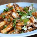 Loaded Chicken Satay French Fries