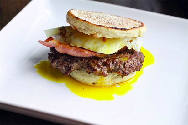 Eggs Benedict Burger Recipe