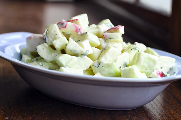 Kohlrabi Salad Recipe