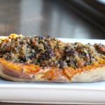 Stuffed Squash with Boerewors