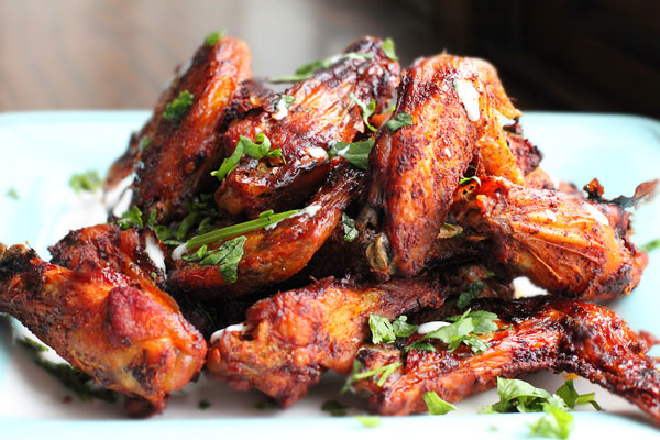 lb chicken wings 3 tbsp al pastor seasoning 1 tbsp fresh cilantro ...