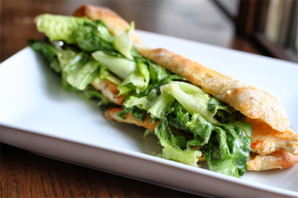 How to make a Chicken Caesar Salad Sandwich