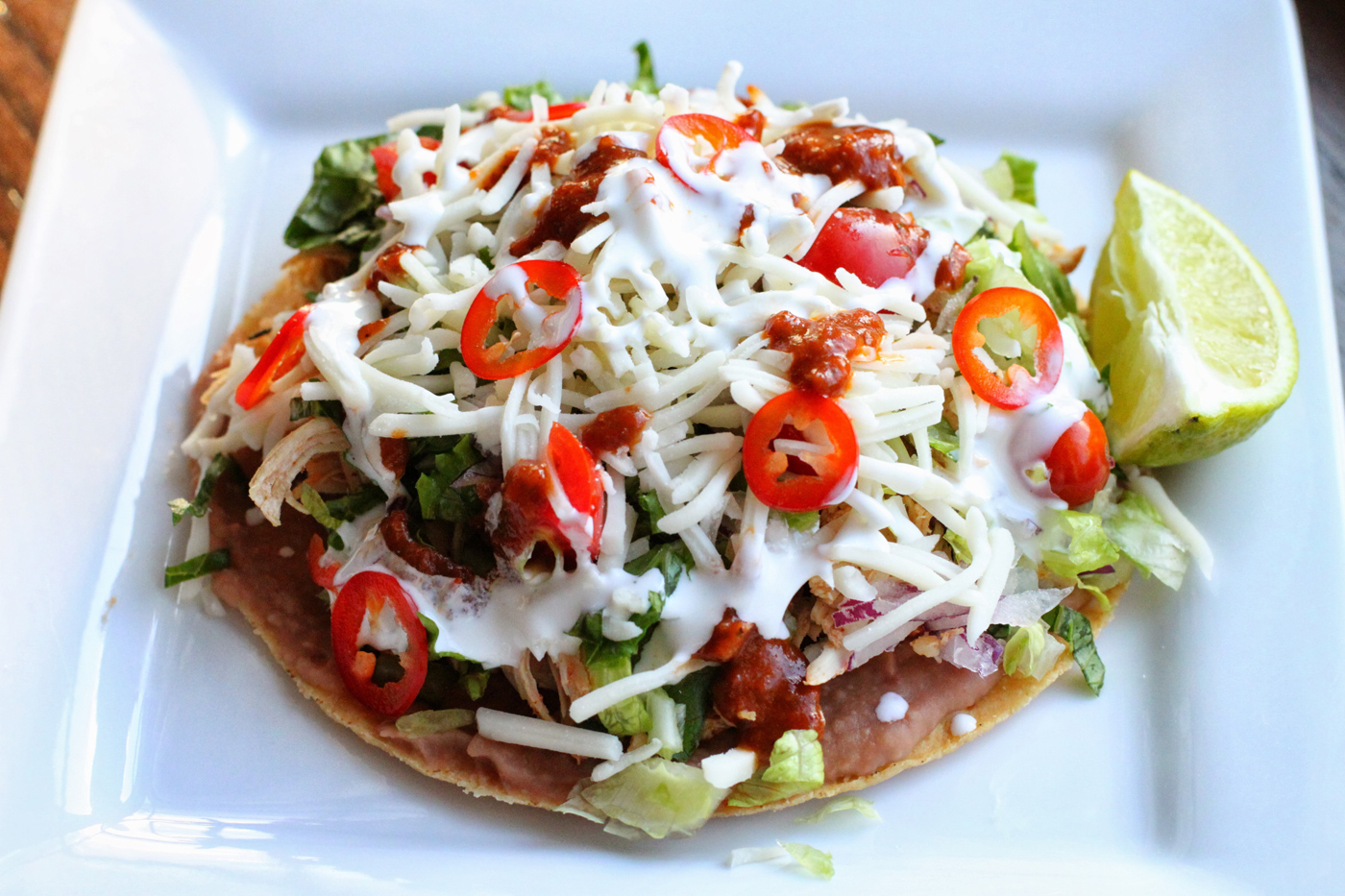 Chicken Tostadas – Simple Comfort Food – Recipes that are simple ...