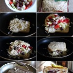 Greek Salad Grilled Cheese Sandwich Recipe