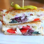 Greek Grilled Cheese Sandwich