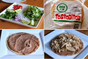 How to make a Chicken Tostada