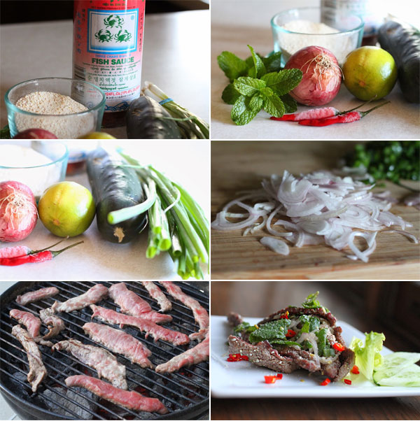 Ho to make Thai Beef Salad
