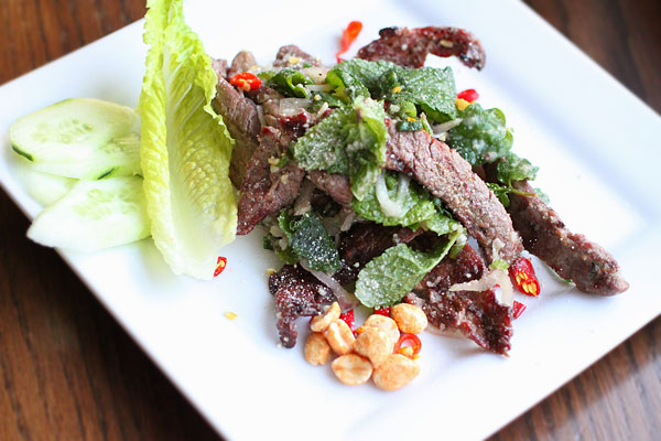 Nam Tok – Thai Waterfall Grilled Beef Salad