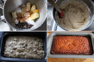 How to make chocolate chip banana bread