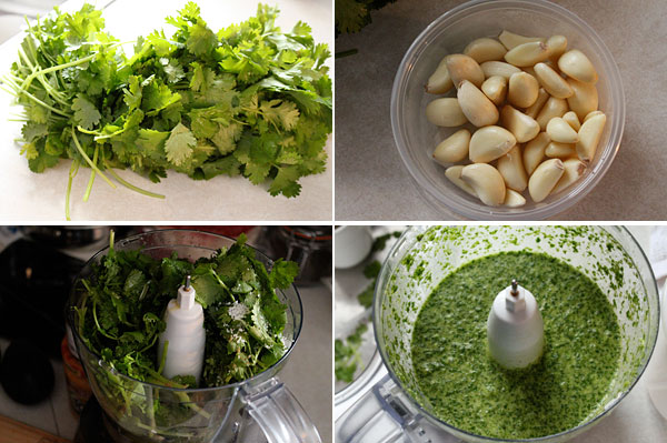 How to make cilantro sauce