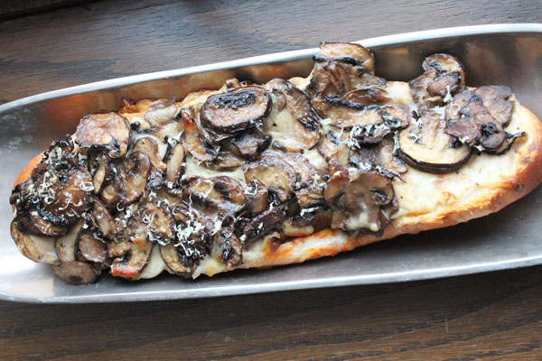 Mushroom French Bread Pizza