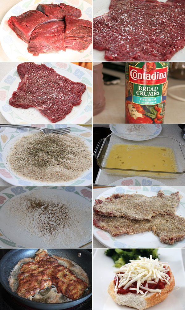 Sicilian Steak Recipe — Dishmaps