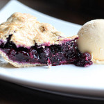 Blueberry and Ginger Pie