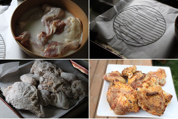 How to make crispy oven fried chicken
