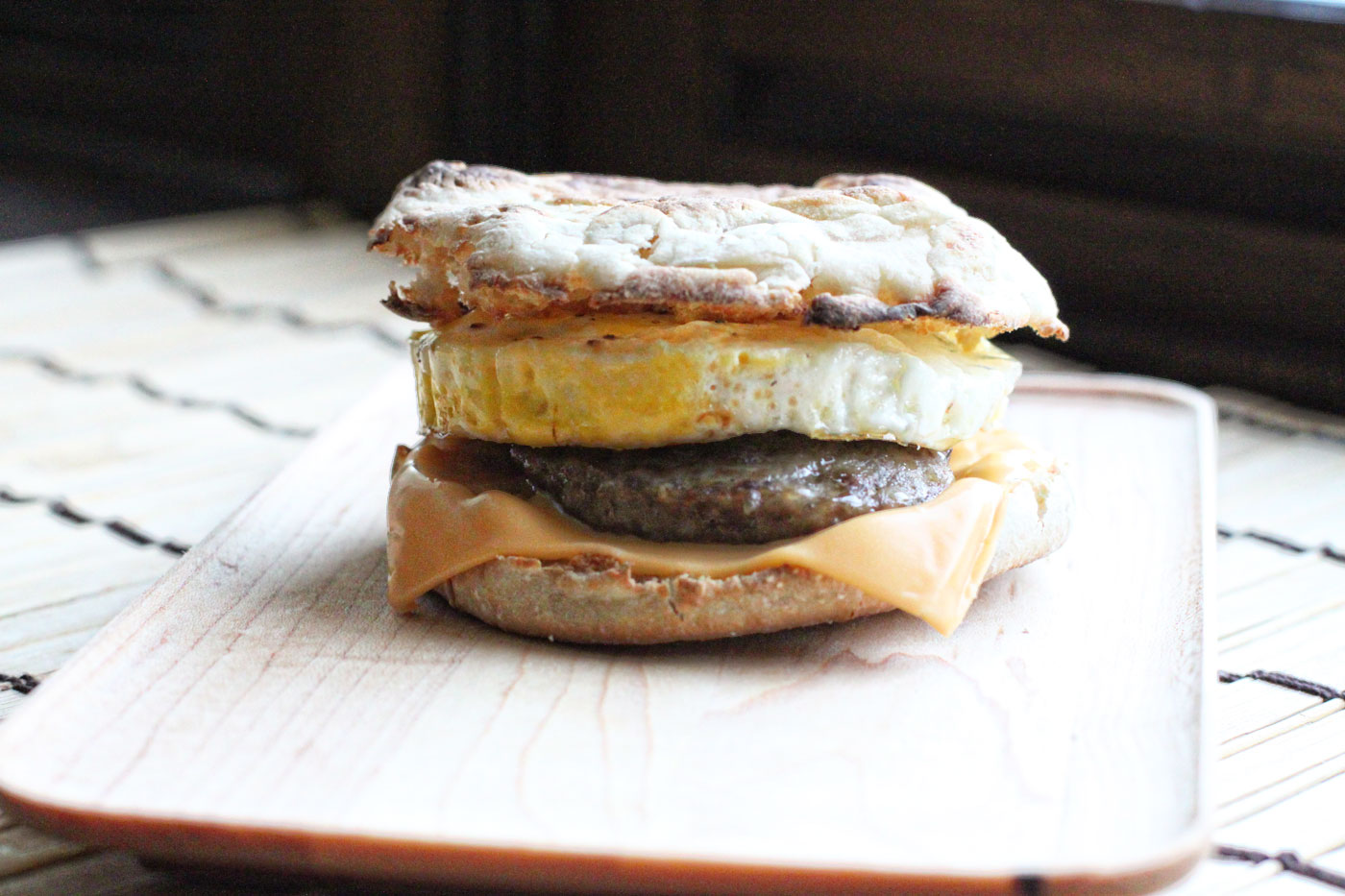 How to make a sausage and egg McMuffin