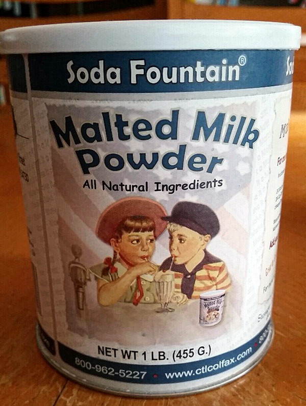 Soda Fountain Malted Milk Powder
