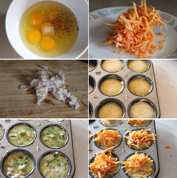 How to make Denver Omelette Cups