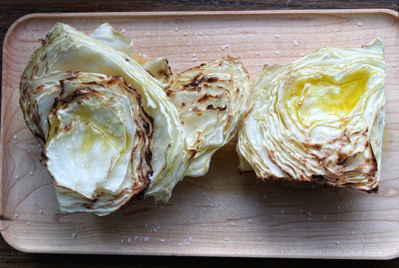 Cabbage On The Grill Recipe — Dishmaps