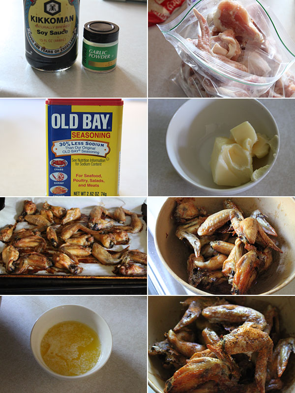 How to make Old Bay Chicken Wings