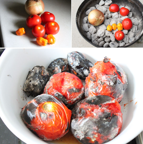 How to make Fire Roasted Habanero Salsa