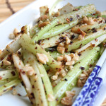 Spicy Stir Fried Celery